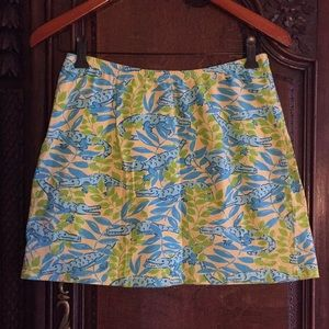 Vintage Lilly Pulitzer skirt bathing suit cover